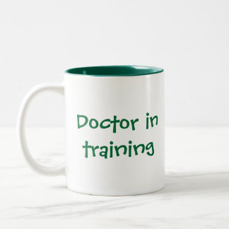 Celebración del oficio de enfermera y de la medici taza de café