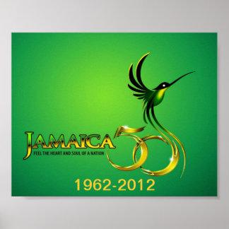Celebración del poster de Jamaica 50.a