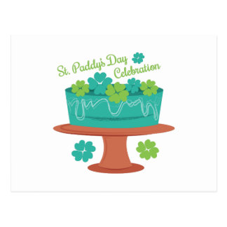 Celebración del St Paddys Tarjetas Postales