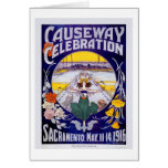 Celebración del terraplén de Sacramento Tarjetas