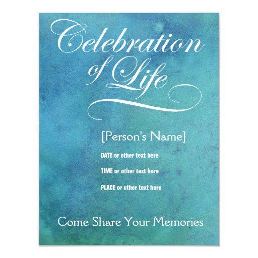 Celebración elegante de la invitación del invitación 10,8 x 13,9 cm