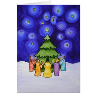 Celebración II del invierno Tarjeta De Felicitación