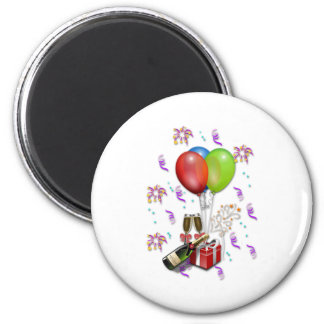 Celebración Imán Redondo 5 Cm