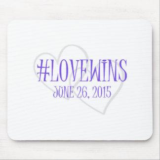 Celebración Mousepad del #LOVEWINS