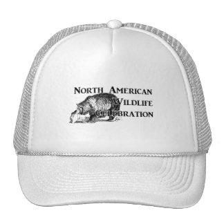 Celebración norteamericana de la fauna gorro de camionero