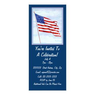 Celebración patriótica comunicado personalizado