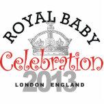 Celebración real del bebé esculturas fotograficas