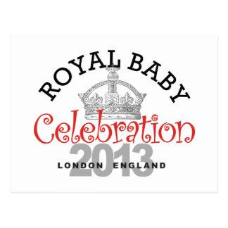 Celebración real del bebé postal