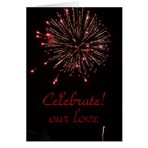 ¡Celebración! Tarjeta De Felicitación