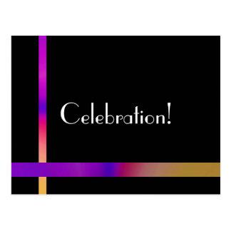 ¡Celebración! Tarjeta Postal
