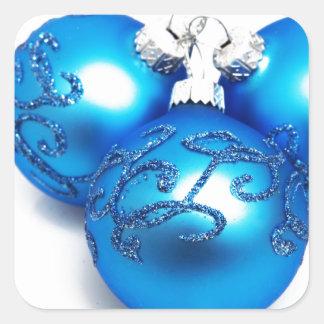 Celebraciones Papá Noel del día de fiesta de las F Colcomanias Cuadradas Personalizadas
