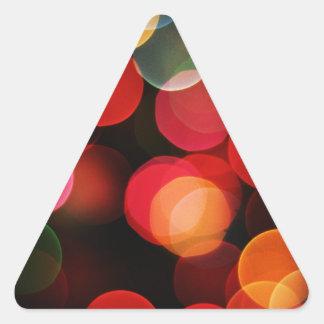 Celebraciones Papá Noel del día de fiesta de las Calcomanías Trianguloes Personalizadas