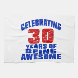 Celebrando 30 años de ser impresionante toalla
