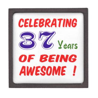 ¡Celebrando 37 años de ser impresionante! Caja De Joyas De Calidad