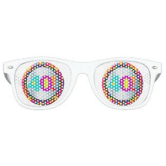 celebrando 40 años de joven lentes de fiesta