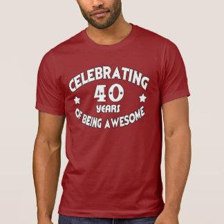 CELEBRANDO 40 años de ser camiseta IMPRESIONANTE