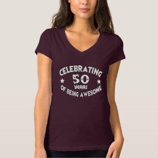 CELEBRANDO 50 años de ser camiseta IMPRESIONANTE Playera