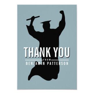 Celebrando al graduado personalizado gracias invitación 8,9 x 12,7 cm