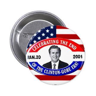 Celebrando el extremo - botón pin