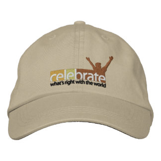 Celebrar-Whats-Derecho-ninguna línea de corte RGB- Gorras De Béisbol Bordadas