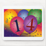 Celebrate 14th Birthday Mouse Pads