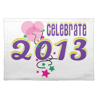 Celebrate 2013 place mats