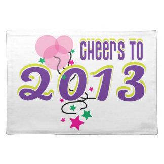Celebrate 2013 place mat