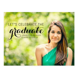 CELEBRATE | 2015 GRADUATION PARTY INVITATION POSTCARD