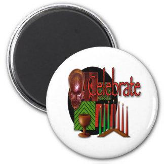 Celebrate 2 Inch Round Magnet