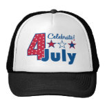 Celebrate 4th of July Hat