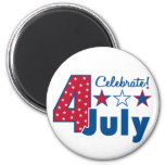 Celebrate 4th of July Magnets