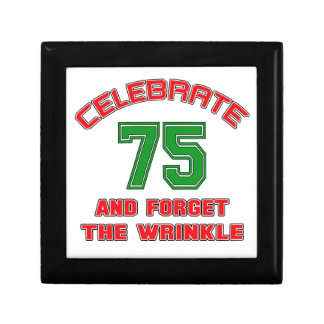 Celebrate 75 and forget the wrinkle jewelry box