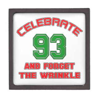 Celebrate 93 and forget the wrinkle gift box