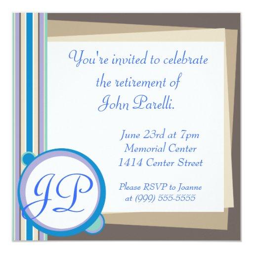 Celebrate a Retirement Invite