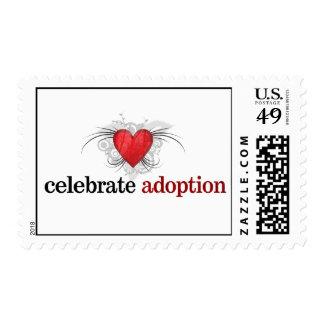 Celebrate Adoption Postage Stamps