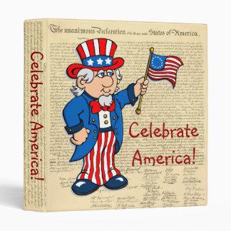 Celebrate America! 3 Ring Binder