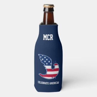 Celebrate America! 4th of July Party Bottle Cooler