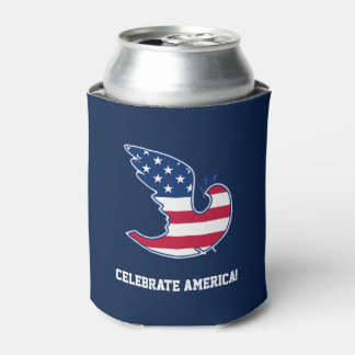 Celebrate America! 4th of July Party Can Cooler