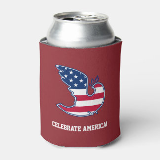 Celebrate America! 4th of July Party Can Coolers