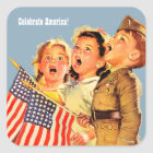 Celebrate America, 4th of July Patriotic Stickers