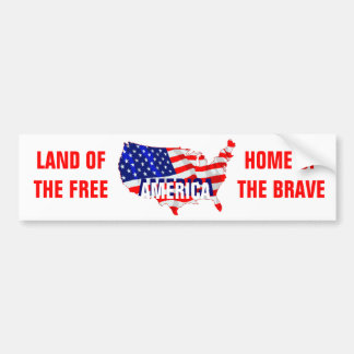 Celebrate America Bumper Sticker