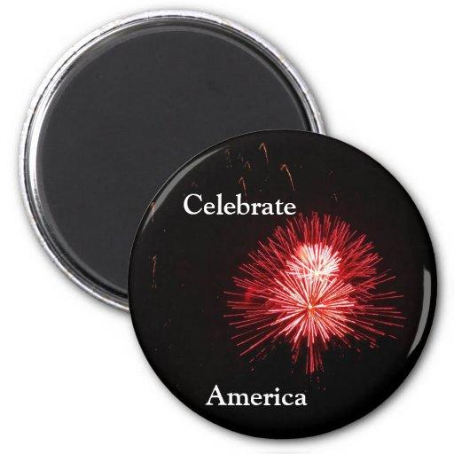 Celebrate America Fridge Magnets