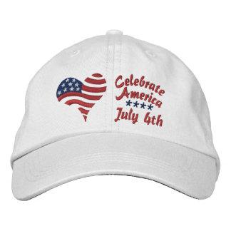 Celebrate America - July 4th - Cap