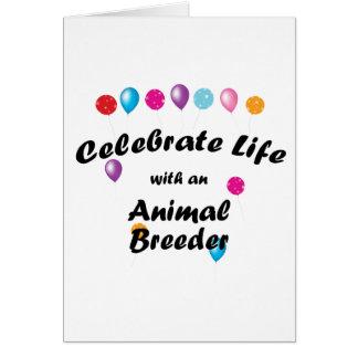 Celebrate Animal Breeder Card