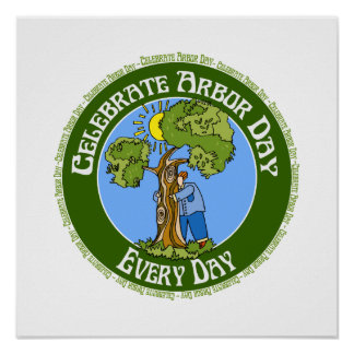Celebrate Arbor Day Every Day Poster