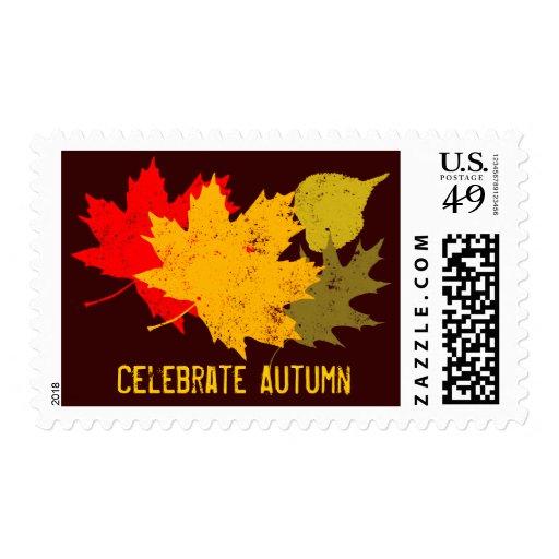 Celebrate Autumn Stamps
