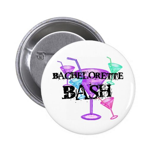Celebrate Bachelorette Bash Pins