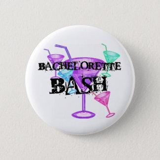 Celebrate Bachelorette Bash Pinback Button