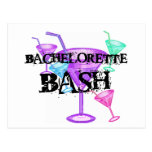 Celebrate Bachelorette Bash Postcard