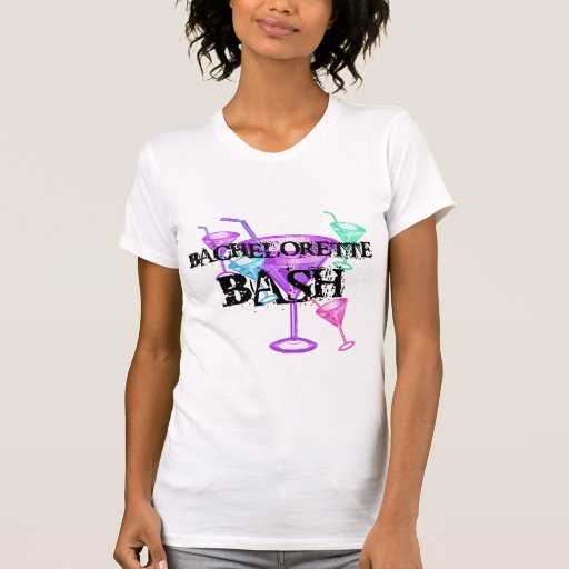 Celebrate Bachelorette Bash T-Shirt